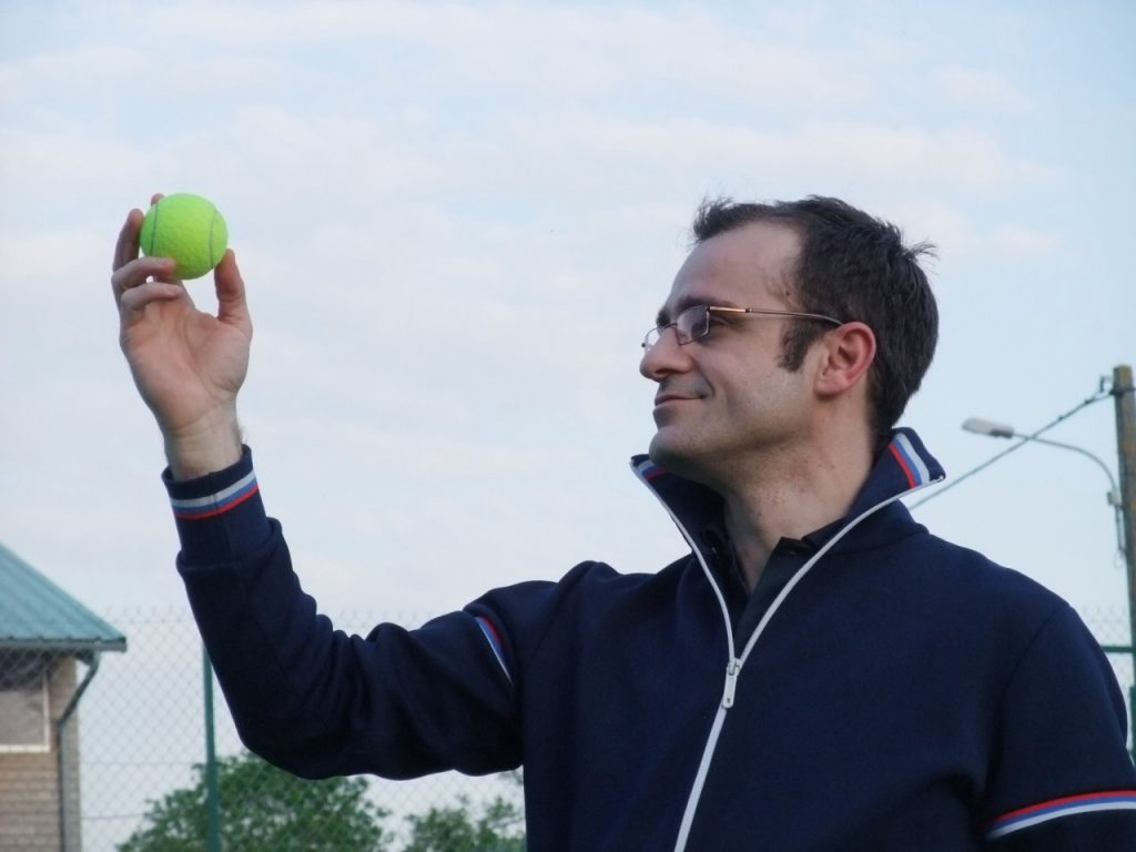 Vincent Bonnin face à son défi Tennis