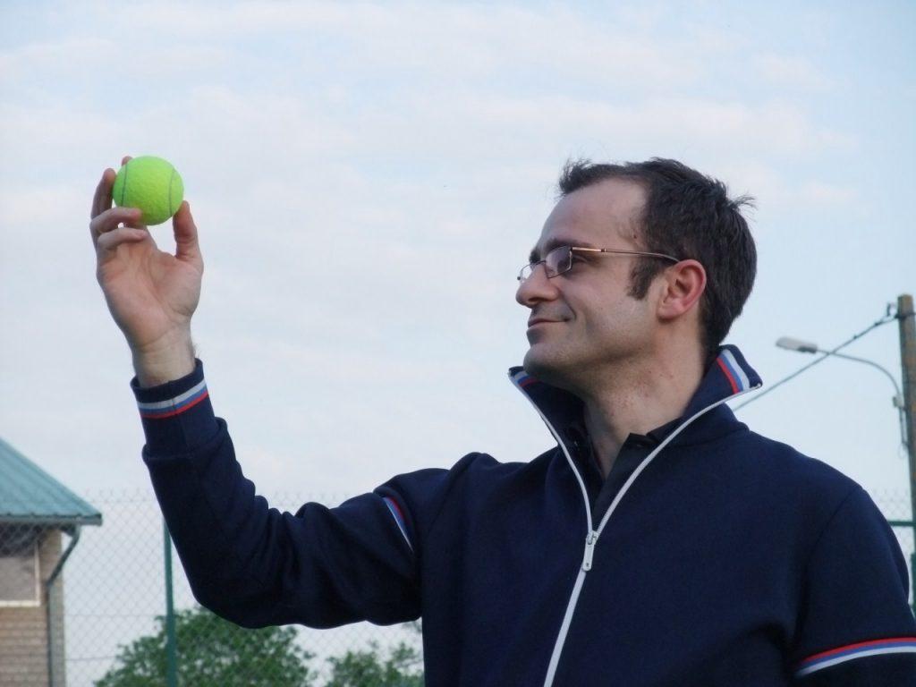 Vincent Bonnin face à son défi Tennis