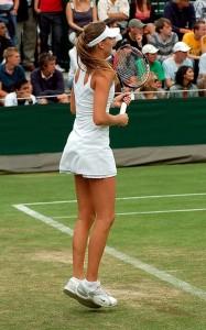 sublime allègement par par une des plus belles joueuse de tennis