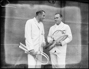 Bill Tilden et Francis Hunter