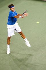Roger joueur de tennis