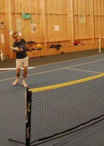 Volee au Street Tennis