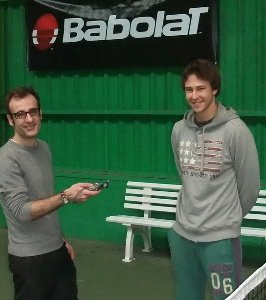 Gleb Sakharov sur Blog Tennis concept
