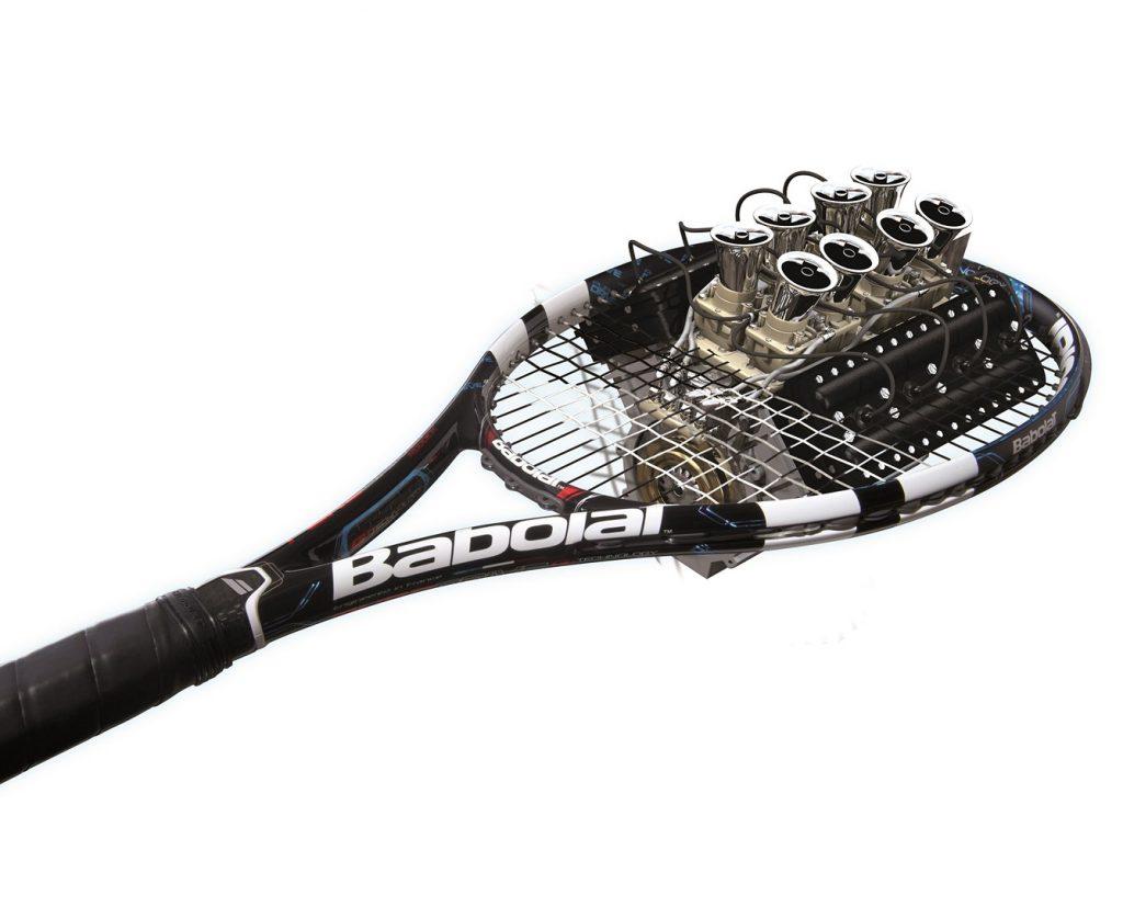 Cordage moteur de ma raquette