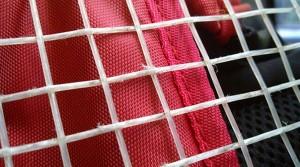 cordage tennis usé