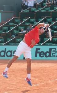 Djokovic bien relâché