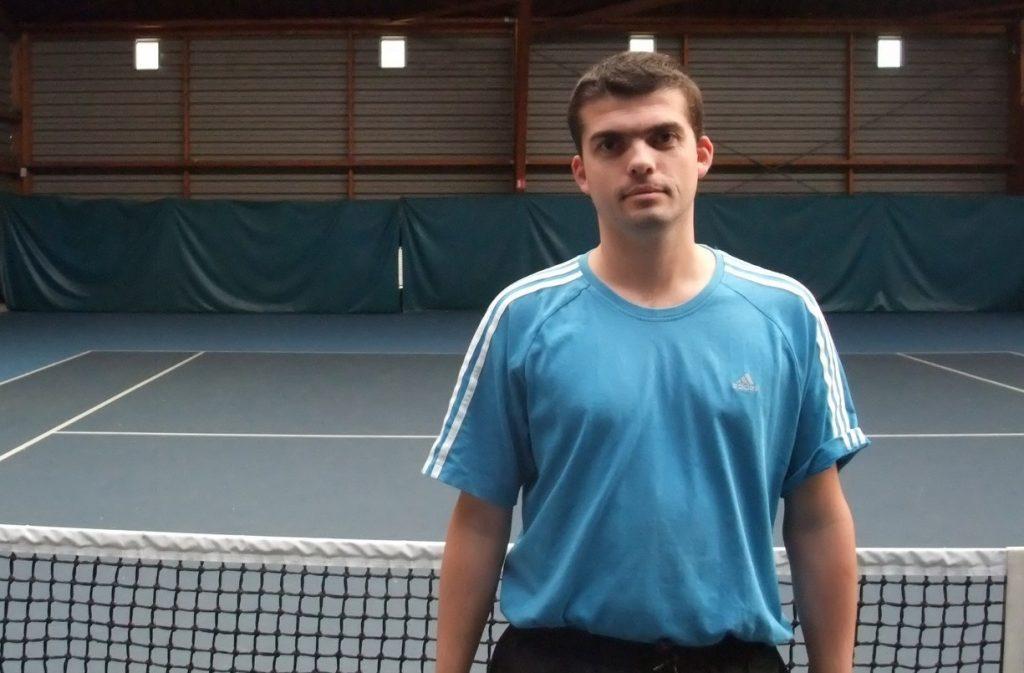 bertrand Camacho coach de tennis