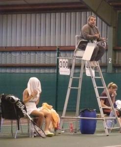 changement de côté tennis