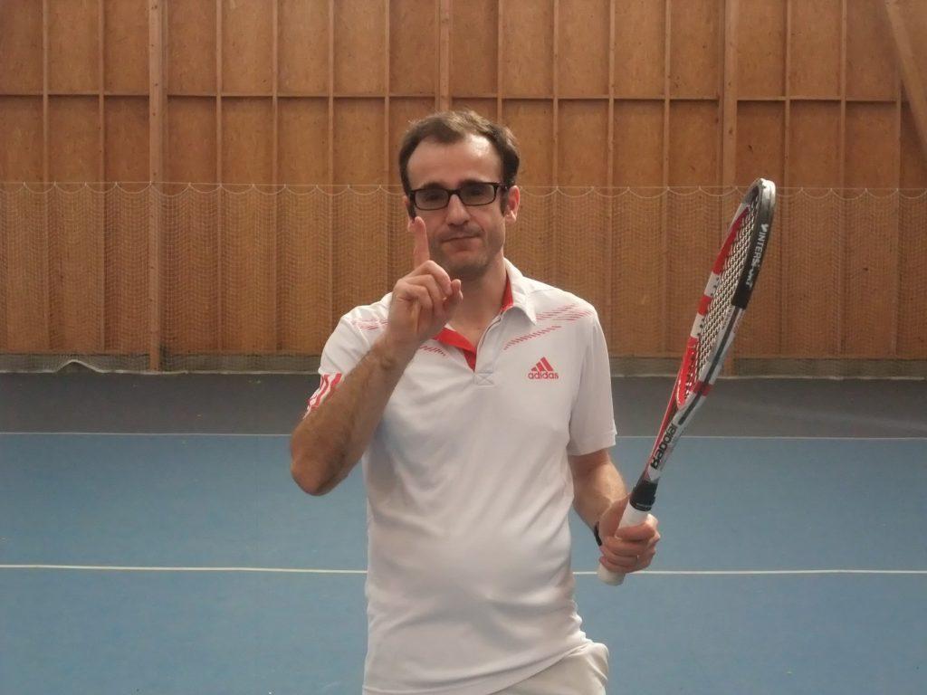 Bien percevoir la balle au tennis