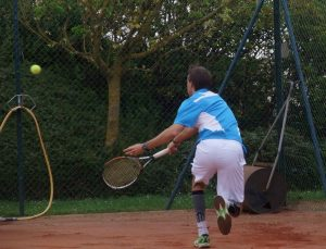 même les meilleurs remettent la balle simplement quand ils sont débordés © Vincent Bonnin