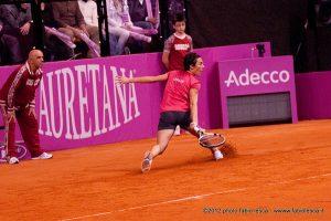 Jouer en equipe c'est s'arracher sur toutes les balles ©Fabio Lesca
