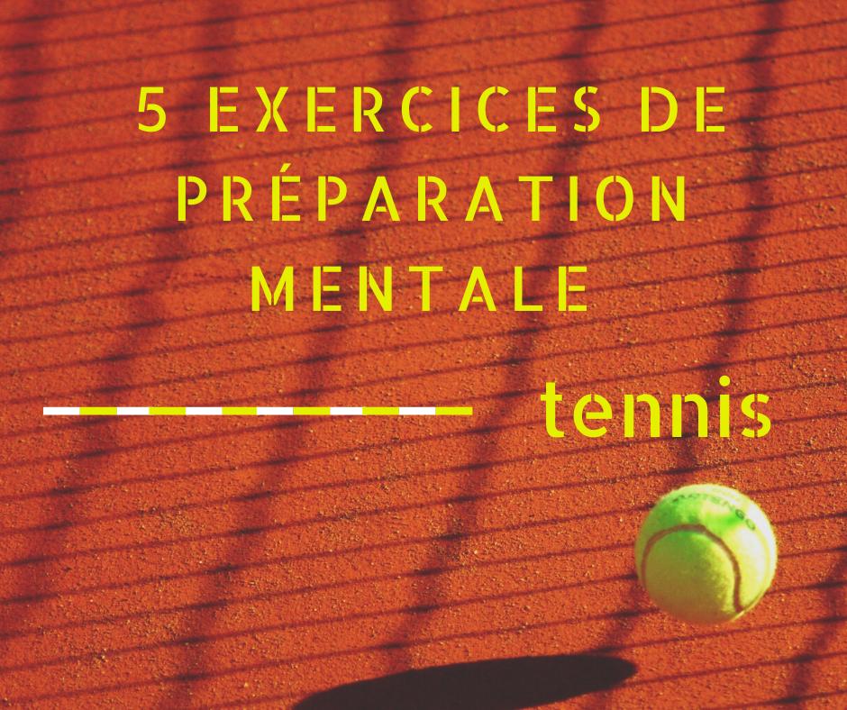 La Preparation Mentale Au Tennis 5 Exercices Blog Tennis Concept